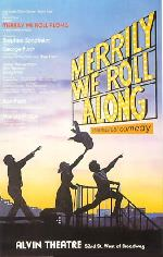 ©DR Affiche de Merrily We Roll Along à Broadway en 1981.