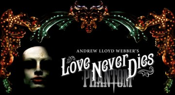 Love Never Dies Logo Official