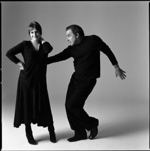 Patti LuPone et Mandy Patinkin dans <i>An Evening with Patti LuPone and Mandy Patinkin</i>  © Brigitte LaCombe