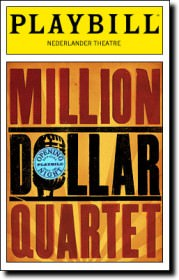 Million Dollar Quartet Playbill