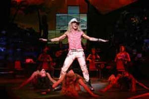 James Carpinello dans <i>Rock of Ages</i> sur Broadway  © Joan Marcus