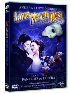 Love Never Dies DVD