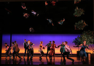 La troupe originale de Broadway de la comédie musicale If/Then © Joan Marcus